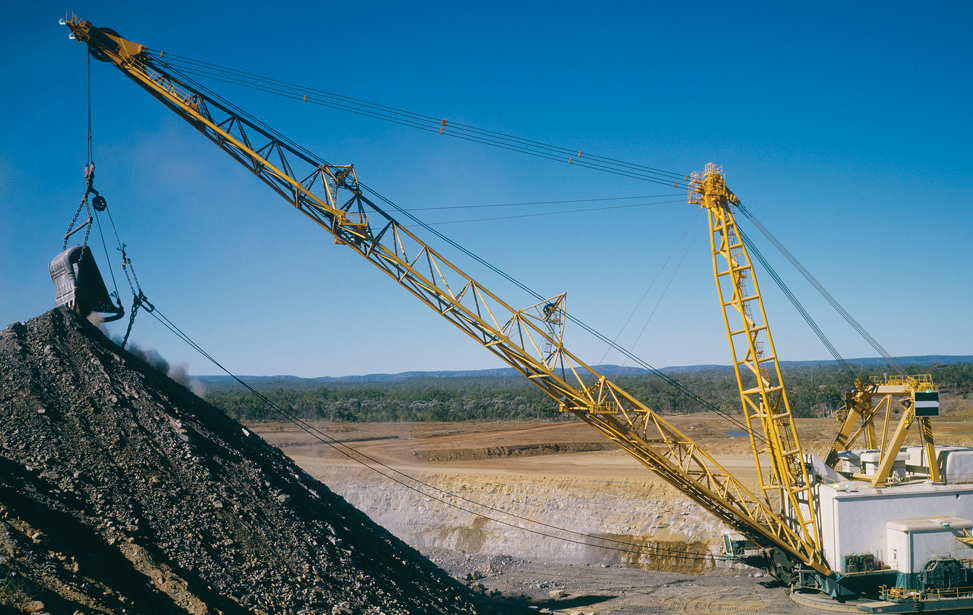 Shovels and Draglines Applications