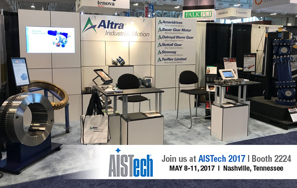 AISTech 2017 Booth Photo