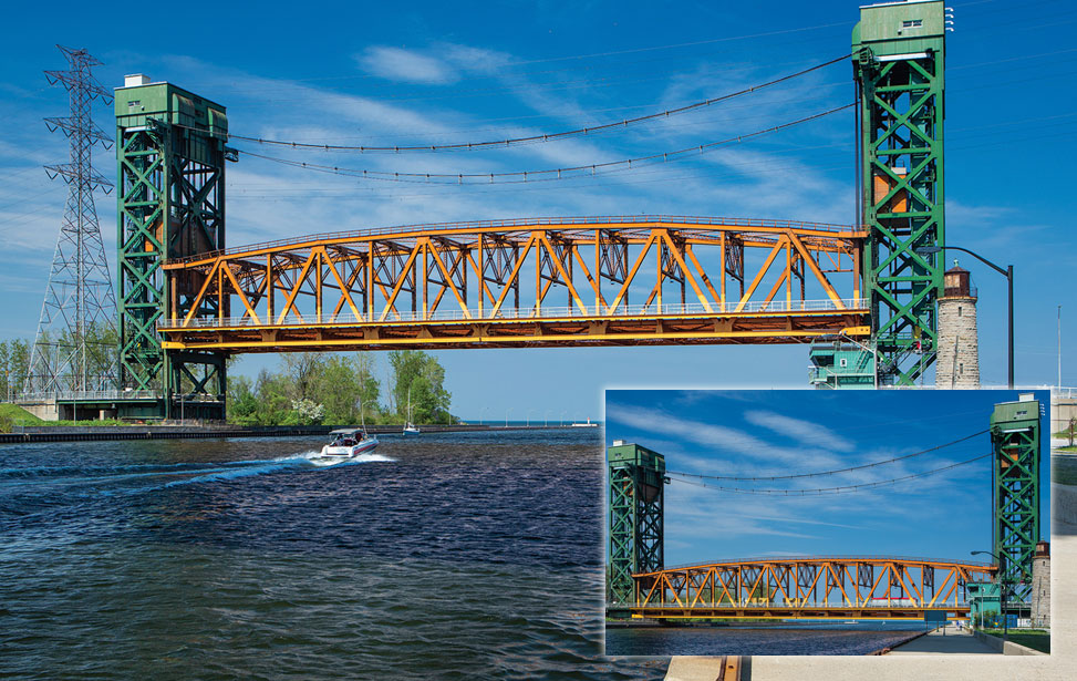 Vertical Lift Bridge Burlington Ontario