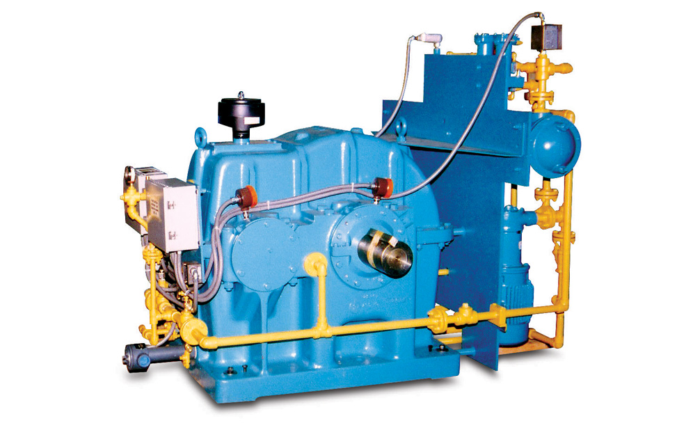 Nuttall Gear Descaling Pump Drives
